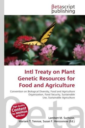 Intl Treaty on Plant Genetic Resources for Food and Agriculture | Dodax.ch