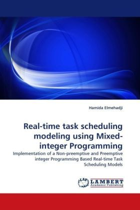 Real-time task scheduling modeling using Mixed-integer Programming | Dodax.ch