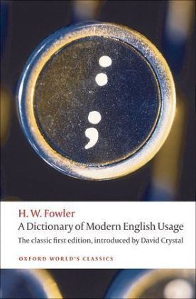 A Dictionary of Modern English Usage | Dodax.pl