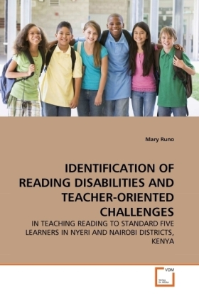 IDENTIFICATION OF READING DISABILITIES AND TEACHER-ORIENTED CHALLENGES | Dodax.co.uk