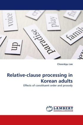 Relative-clause processing in Korean adults | Dodax.pl