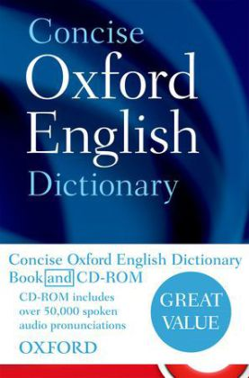 Concise Oxford English Dictionary, w. CD-ROM | Dodax.ch