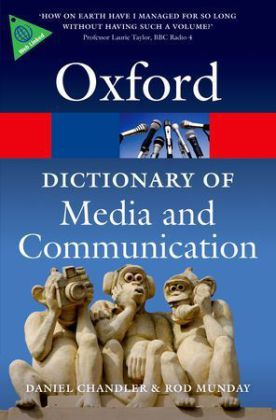 Oxford Dictionary of Media and Communication   Dodax.pl