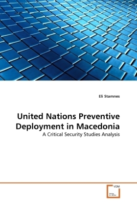 United Nations Preventive Deployment in Macedonia | Dodax.at