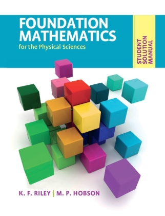 Student Solution Manual for Foundation Mathematics for the Physical Sciences | Dodax.de