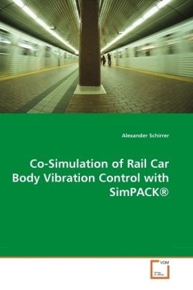 Co-Simulation of Rail Car Body Vibration Control with SimPACK® | Dodax.at