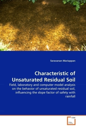 Characteristic of Unsaturated Residual Soil | Dodax.de
