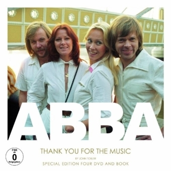 ABBA, Thank you for the Music, 4 DVDs m. Buch | Dodax.at