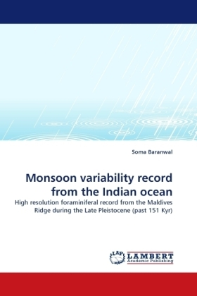 Monsoon variability record from the Indian ocean | Dodax.ch