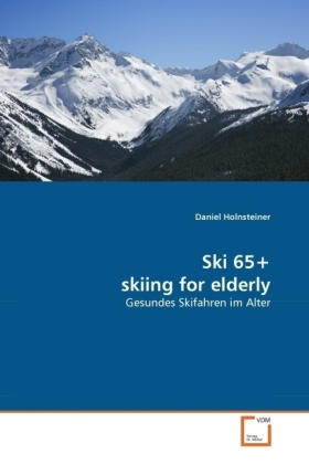 Image of Ski 65+ skiing for elderly