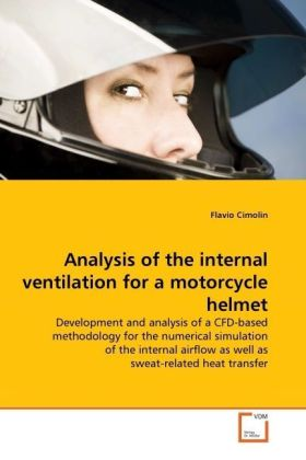 Analysis of the internal ventilation for a motorcycle helmet | Dodax.de