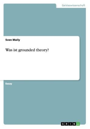 Was ist grounded theory? | Dodax.at