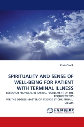 SPIRITUALITY AND SENSE OF WELL-BEING FOR PATIENT WITH TERMINAL ILLNESS | Dodax.de