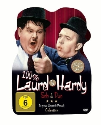 100 % Laurel & Hardy - Solo & Duo, 2 DVDs | Dodax.at