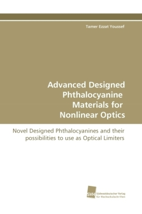 Advanced Designed Phthalocyanine Materials for Nonlinear Optics | Dodax.ch