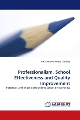 Professionalism, School Effectiveness and Quality Improvement | Dodax.de