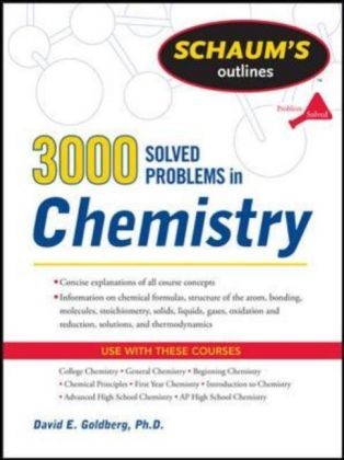 3,000 Solved Problems In Chemistry | Dodax.at