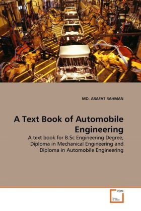 A Text Book of Automobile Engineering | Dodax.ch