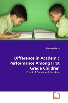 Difference in Academic Performance Among First Grade Children | Dodax.de