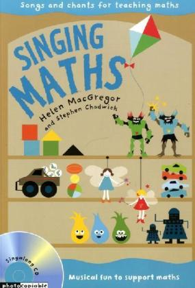 Singing Maths, Audio-CD and Book | Dodax.nl