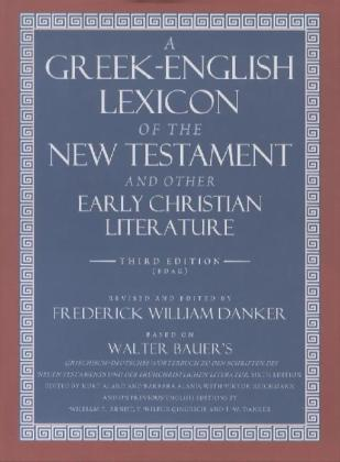 A Greek-English Lexicon of the New Testament & Other Early Christian Literature | Dodax.pl
