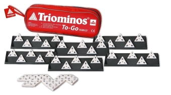 Triominos (Spiel) To Go Family | Dodax.at