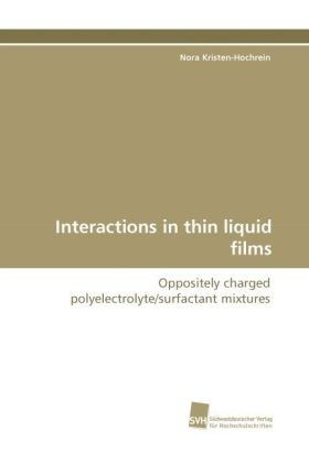 Interactions in thin liquid films | Dodax.ch