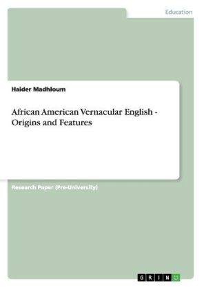 African American Vernacular English - Origins and Features | Dodax.pl