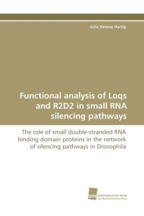 Functional analysis of Loqs and R2D2 in small RNA silencing pathways | Dodax.at