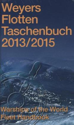 Weyers Flottentaschenbuch /Warships of the World / 2013/2015 | Dodax.pl