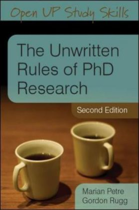 The Unwritten Rules of PhD Research | Dodax.pl