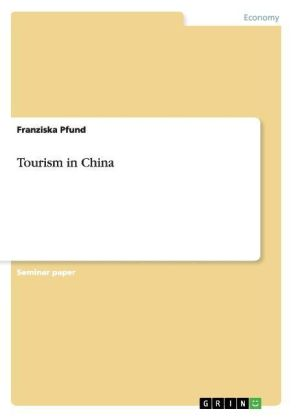Tourism in China   Dodax.ch