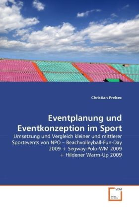 Image of Eventplanung und Eventkonzeption im Sport