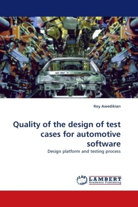 Quality of the design of test cases for automotive software | Dodax.ch