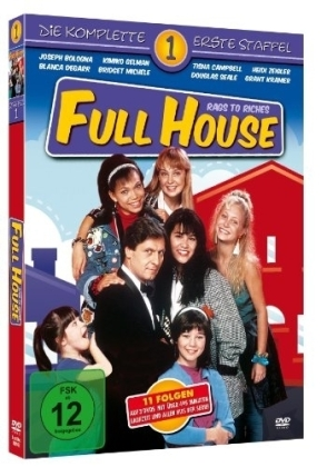 Full House: Rags To Riches - Staffel 1 (3 DVD)   Dodax.fr
