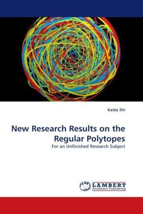 New Research Results on the Regular Polytopes | Dodax.de