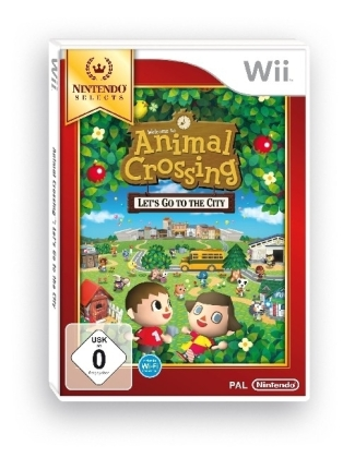 Animal Crossing: Let's Go to the City Nintendo Selects Edition; German Version - Wii | Dodax.co.uk