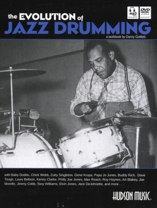 The Evolution of Jazz Drumming, w. Audio-CD and DVD   Dodax.at