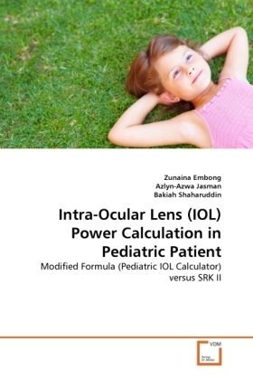 Intra-Ocular Lens (IOL) Power Calculation in Pediatric Patient | Dodax.co.uk