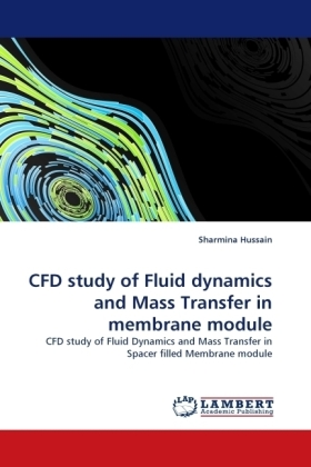 CFD study of Fluid dynamics and Mass Transfer in membrane module | Dodax.ch