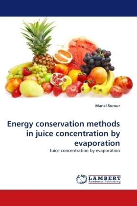 Energy conservation methods in juice concentration by evaporation | Dodax.at