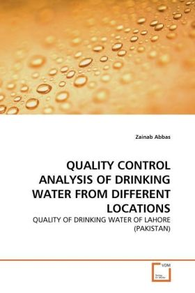 QUALITY CONTROL ANALYSIS OF DRINKING WATER FROM DIFFERENT LOCATIONS | Dodax.at