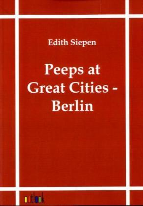 Peeps at Great Cities - Berlin | Dodax.ch