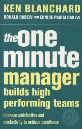 The One Minute Manager Builds High Performing Teams | Dodax.com