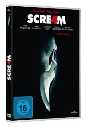 Scream 4, 1 DVD | Dodax.com