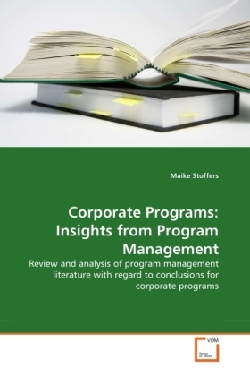 Corporate Programs: Insights from Program Management | Dodax.at