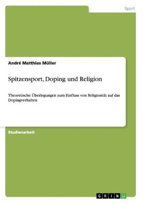 Image of Spitzensport, Doping und Religion