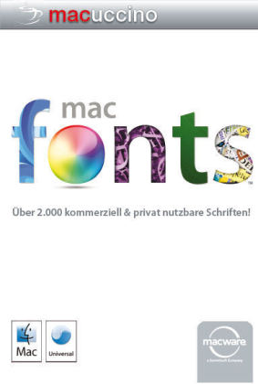 MAC Ware - Mac Fonts Complete Collection 2000, 1 CD-ROM | Dodax.ch