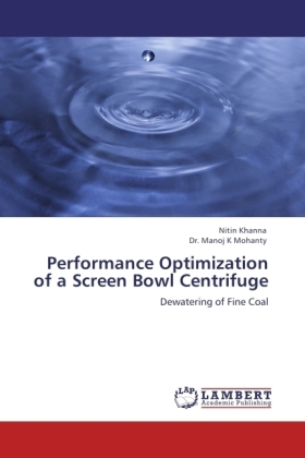 Performance Optimization of a Screen Bowl Centrifuge | Dodax.at