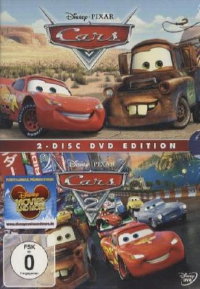Cars + Cars 2 Collection, 2 DVDs | Dodax.fr
